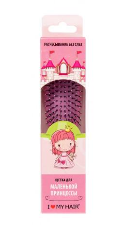 """Щетка ILMH """"Spider"""" в детской упаковке розовая S"""
