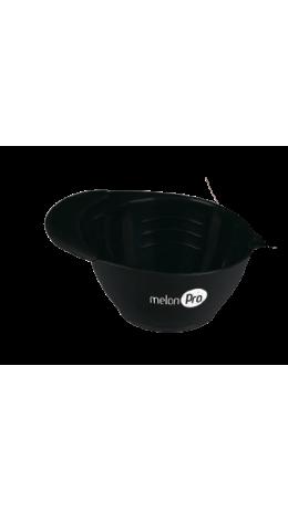 Чаша для красителя с прорезиненным дном 350 мл (черная)