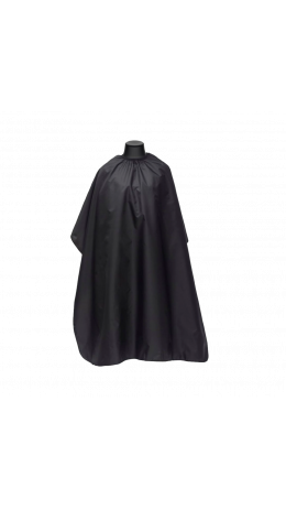 Пеньюар черный однотонный